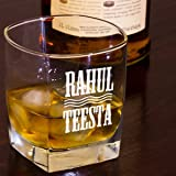 DEZAINS Personalized Couple Whiskey Glass - Set of 2