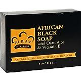Nubian Heritage Soap Bar African Black, 5 oz
