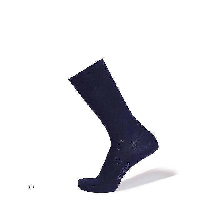 SANGIACOMO WE LOVE SOCKS Newport - 6 Pares Calcetines para Hombre en Lana Merina y Algodón: Amazon.es: Ropa y accesorios