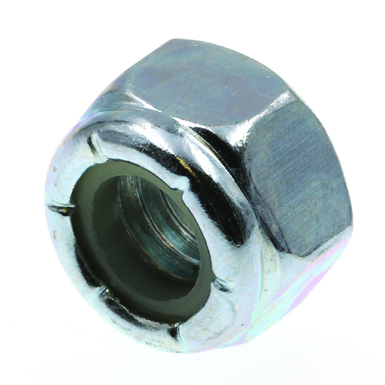 Prime-Line 9075294 Nylon Insert Lock Nuts, 5/16 in.-18, Grade 2 Zinc Plated Steel, 100-Pack
