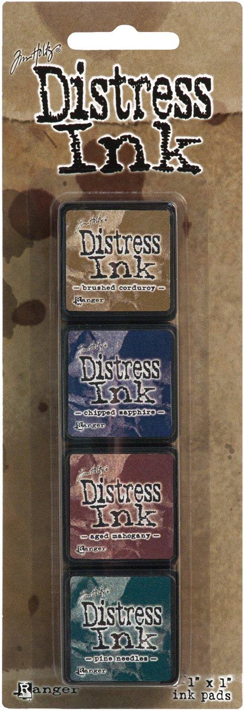 Ranger Distress Mini Ink Kit, 12 TDPK-40422