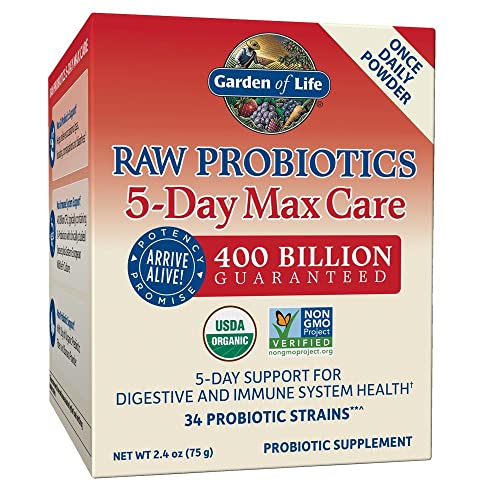 Garden Of Life Raw Probiotics Ultimate Care 30 Vegetarian Capsules Health