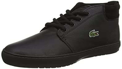 473fd0fd52bc5 Lacoste Men s AMPTHILL TERRA PUT High-top trainers Black Size  46.5 EU (11.5