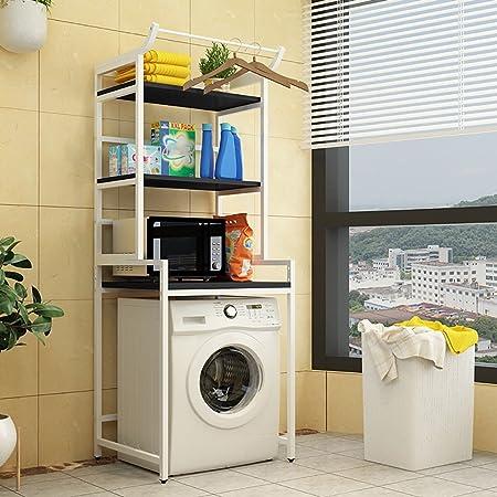 Merveilleux QFFL Tray Creative Washing Machine Bracket / Bathroom Floorstanding Storage  Rack/ Balcony Storage Shelf /