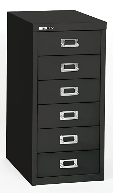 Amazon Com Bisley 6 Drawer Steel Under Desk Multidrawer Storage
