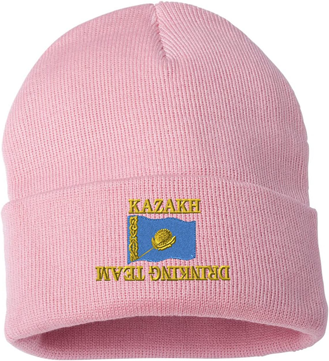 KAZAKH DRINKING TEAM Custom Personalized Embroidery Embroidered Beanie