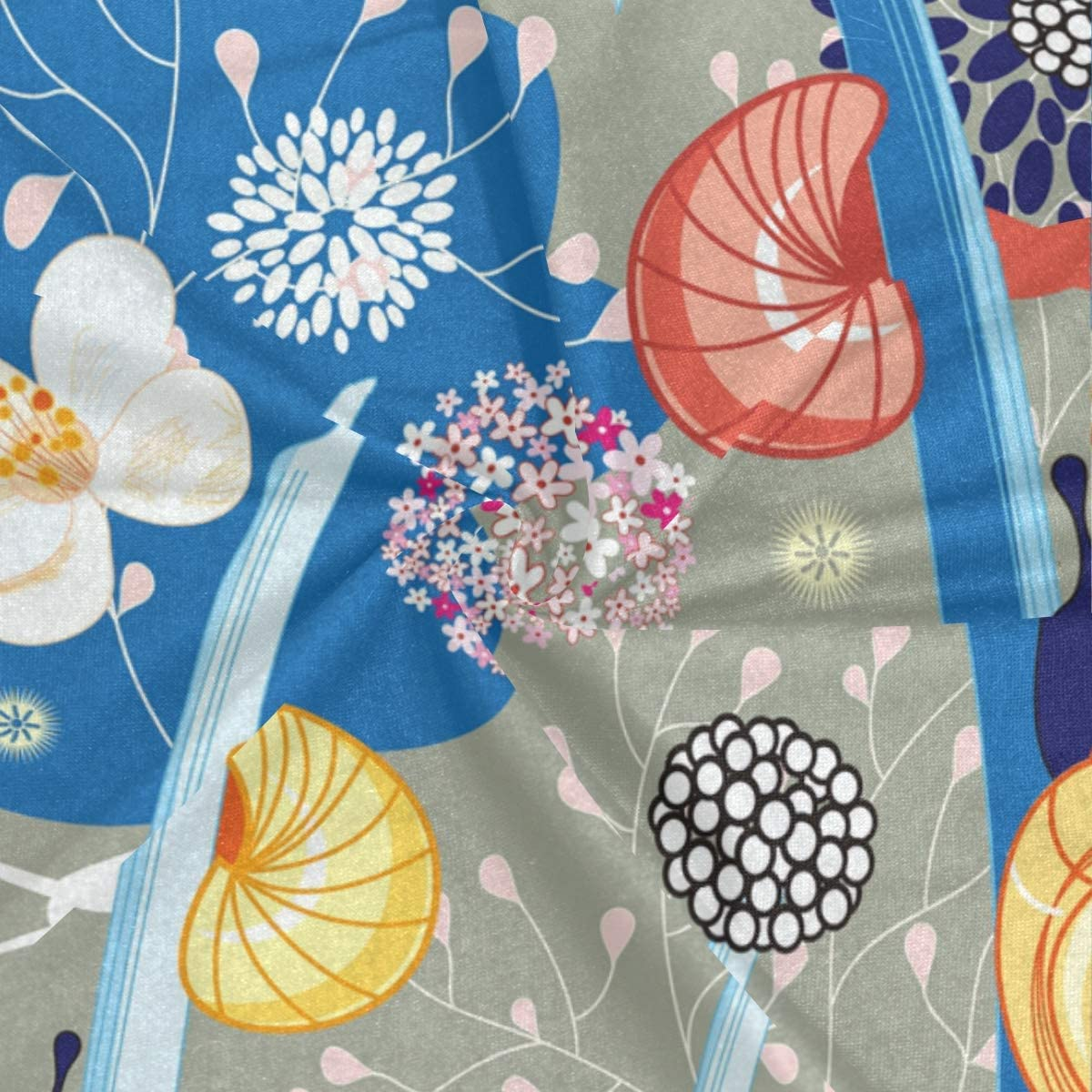 Bandana de flores coloridas con caracol con filtro para la cara PINLLG lavable accesorio para la cabeza para deportes de polvo cuello polaina multifuncional bufanda m/ágica