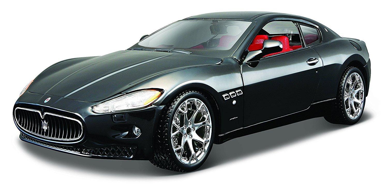 Bburago Maserati Gran Turismo Coche de Juguete Color Negro ...