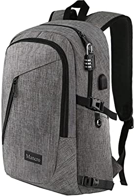 Mancro Computer Bag With USB
