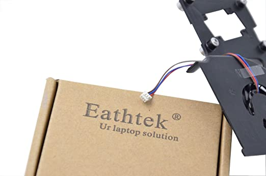 Eathtek Replacement CPU Cooling Fan For Lenovo IBM Thinkpad R61 R61I R61E  series, Compatible part number 42W2779