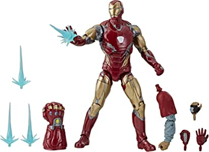 "Armored MK85 Iron Man Marvel Avengers Endgame 7/"" Action Figure Toy Collection"
