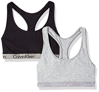 4aea8a258addf0 Calvin Klein Women s Radiant Cotton Logo 2 Pack at Amazon Women s Clothing  store