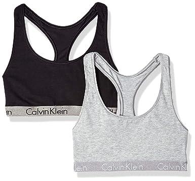 cd39ac394e2447 Calvin Klein Women s Radiant Cotton Logo 2 Pack at Amazon Women s Clothing  store