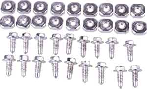 New Dryer Cord Screw Replacement for Whirlpool and Kenmore Terminal Block 279393 (6 Pack)