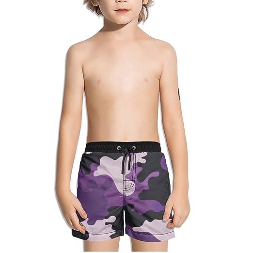 00068198 Image Unavailable. Image not available for. Color: Ouxioaz Boys' Swim Trunk  Purple ...