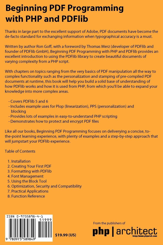 Pdf php function