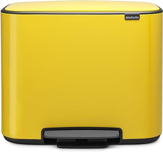 Amazon.com: Brabantia Bo papelera de Pedal: Kitchen & Dining