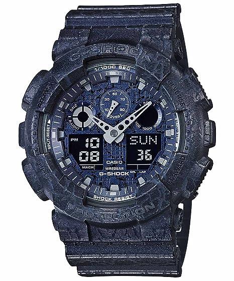 Casio GA-100CG-2A - Reloj analógico Digital Deportivo de Cuarzo para Hombre: Amazon.es: Relojes