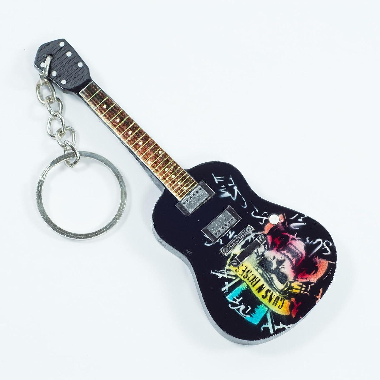 Portachiavi in Legno Forma Chitarra - Guns N' Roses - Tribute Eurasia1 srl