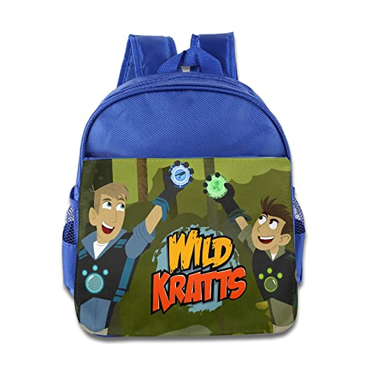 Amazon.com  Kids Wild Kratts School Backpack Cute Children School Bags  RoyalBlue  Toys   Games 8ae1ee831f9a1