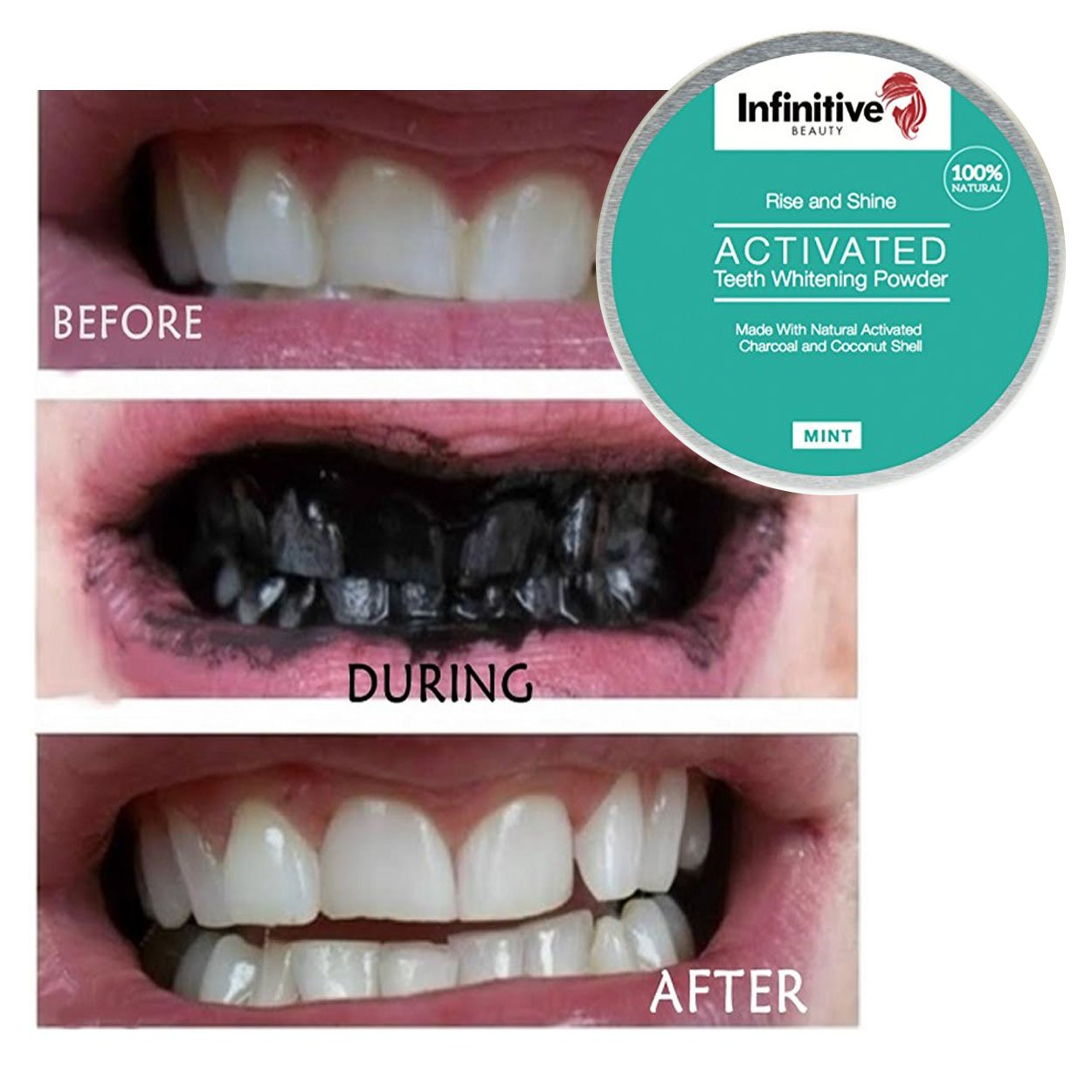 how to make charcoal teeth whitening