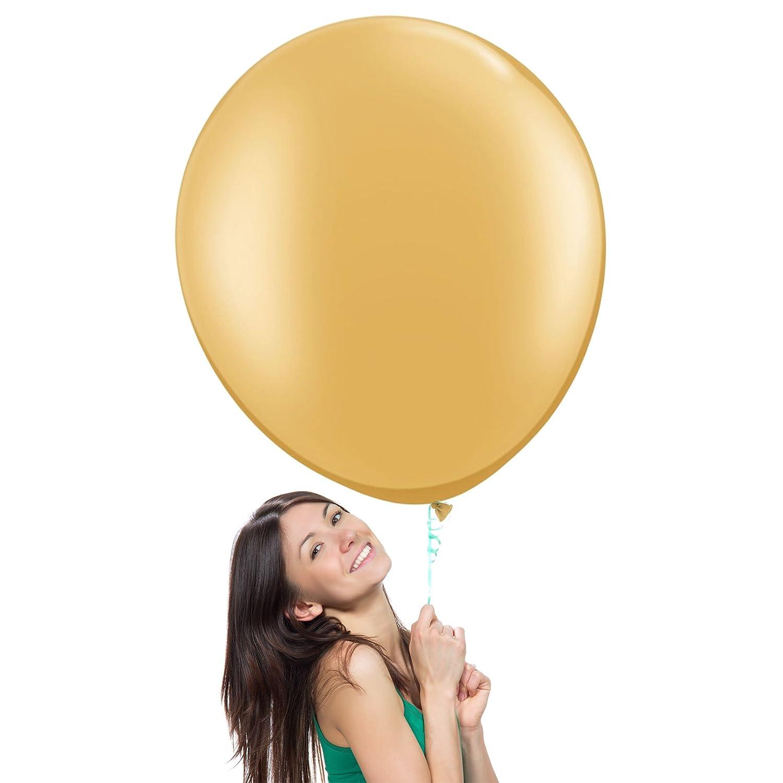 特大ラテックスバルーン (最高品質ヘリウム充填可) 36