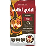 Solid Gold - Wolf King with Real Natural Bison & Brown Rice - Whole Grain Rich - Large Breed Holistic Dry Adult Dog Food