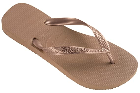 dfeb8ebe8258 Image Unavailable. Image not available for. Colour  Authentic Havaianas  Flip Flop Thong Sandal Top Metallic