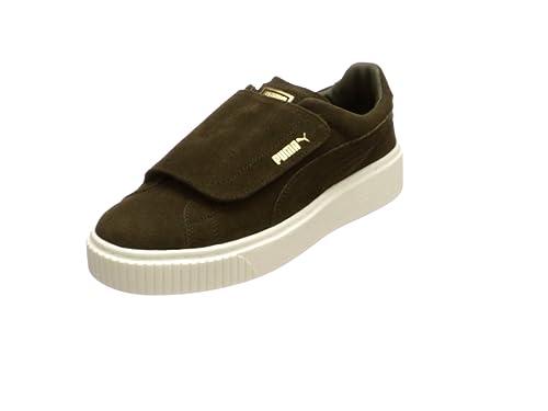 Puma Wmn Suede Platform Strap Olive: : Schuhe