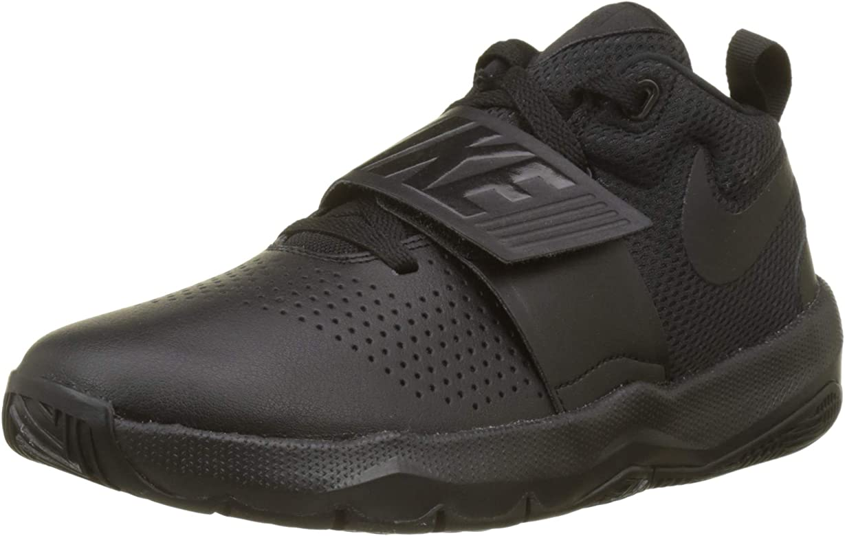 Nike Team Hustle D 8 (GS), Zapatos de Baloncesto para Niños, Negro ...