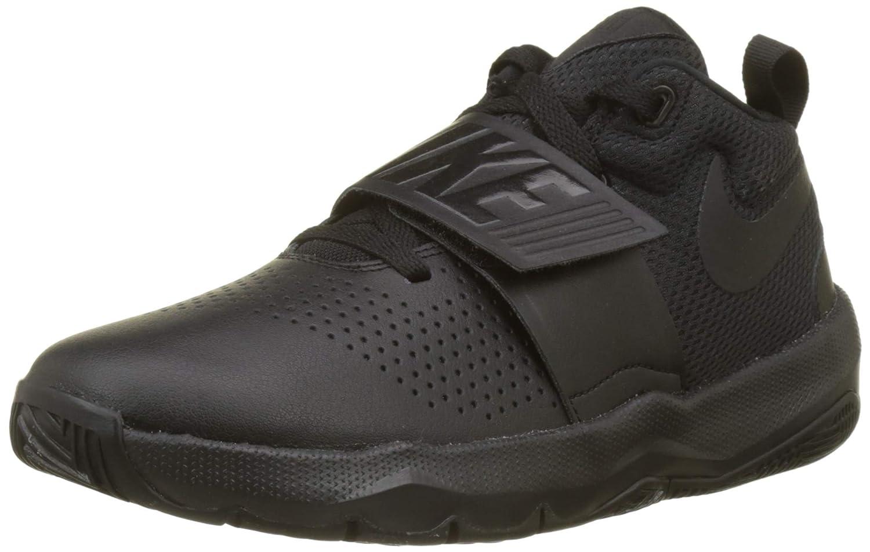 Schwarz(schwarz schwarz 001) Nike Herren Team Hustle D 8 (Gs) Basketballschuhe