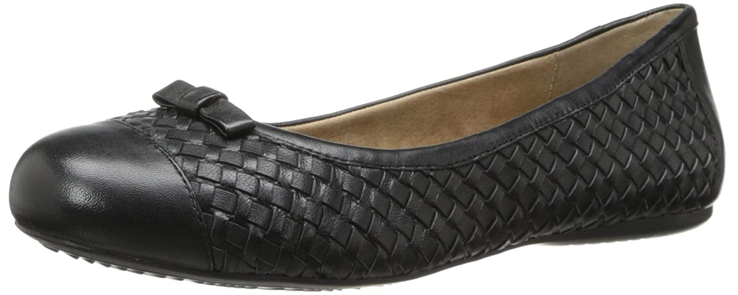 SoftWalk Women's Naperville Ballet Flat B00DR12XU4 8.5 W US|Black