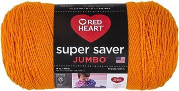 Red Heart Super Saver Jumbo E302C Pumpkin