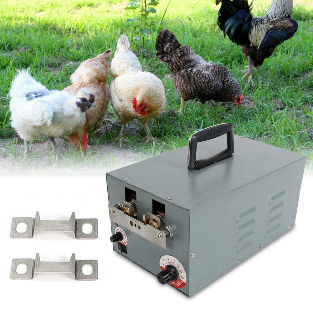 Automatic Chicken Debeaking Machine, Electric Automatic Chick Debeaker Cutting Equipment for Poultry Chicken Beak Cutter 110V 250W (US Stock) by SHZICMY