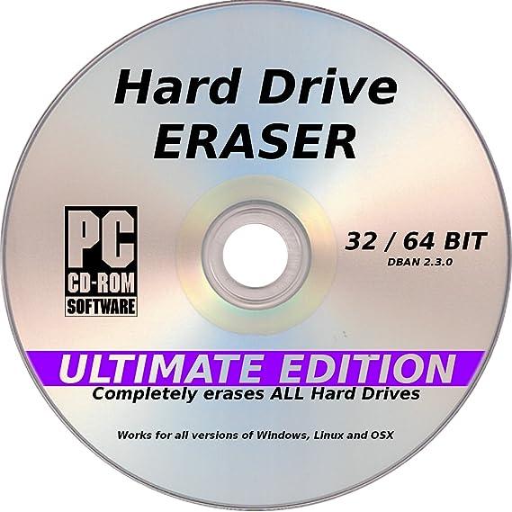 Amazon Dban Hard Drive Eraser Latest Ultimate Edition Pc
