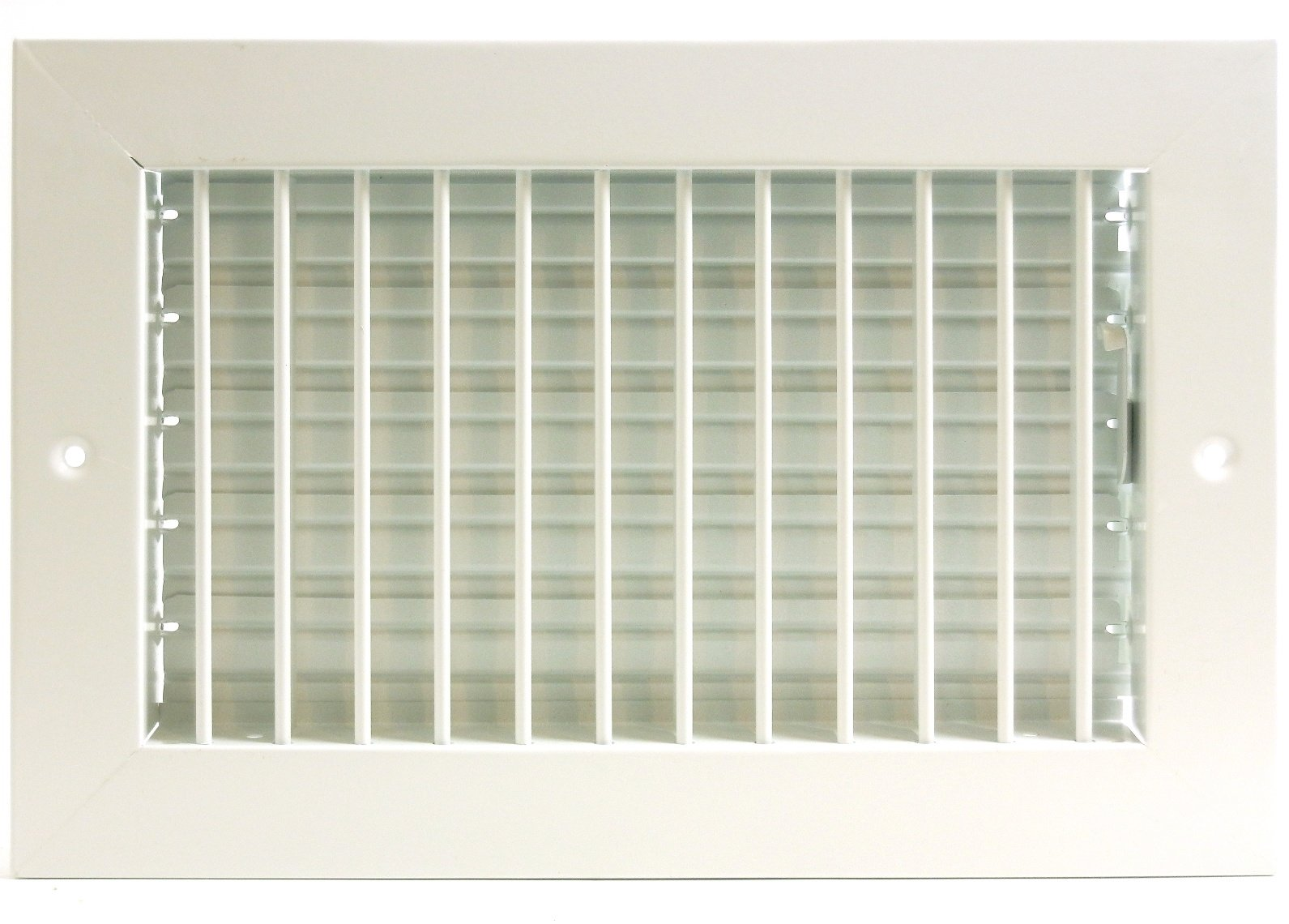 12'' x 8'' ADJUSTABLE DIFFUSER - Vent Duct Cover - Grille Register - Sidewall or Cieling - High Airflow