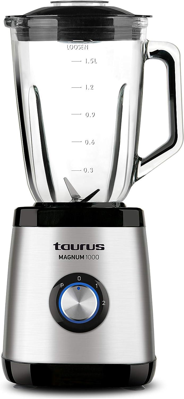 Taurus Optima Magnum Batidora de vaso, 1000 W, 1.5 L, acero inoxidable: Amazon.es: Hogar