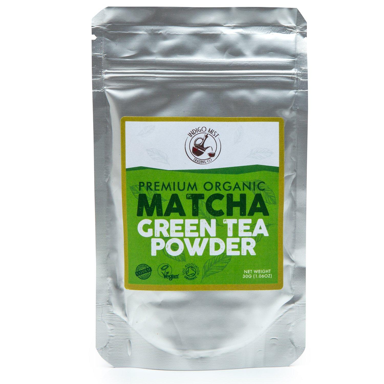 Polvo de Té Verde Premium Orgánico Matcha30g: Amazon.es: Alimentación y bebidas