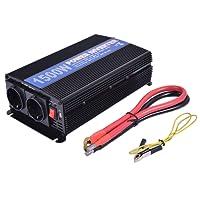 COSTWAY Spannungswandler Wechselrichter Inverter Stromwandler Welchselrichter Ladegeräte 1500W 3000W 12V DC auf 220V AC mit USB-Anschlus