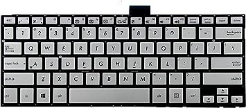 AEBK5U00010 AEBK5U02010 NSK-USLBQ 01 NSK-USLBQ 1D US Layout Silver Color New Laptop Keyboard Without Frame Replacement for Asus G501J G501JW G501V G501VW N501V N501VW P//N