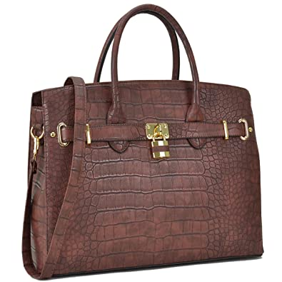 bf8ab84d474f90 MKP Collection Croco Embossed Satchel. Fashion shoulder handbag.Purse for  Holiday gift. Top