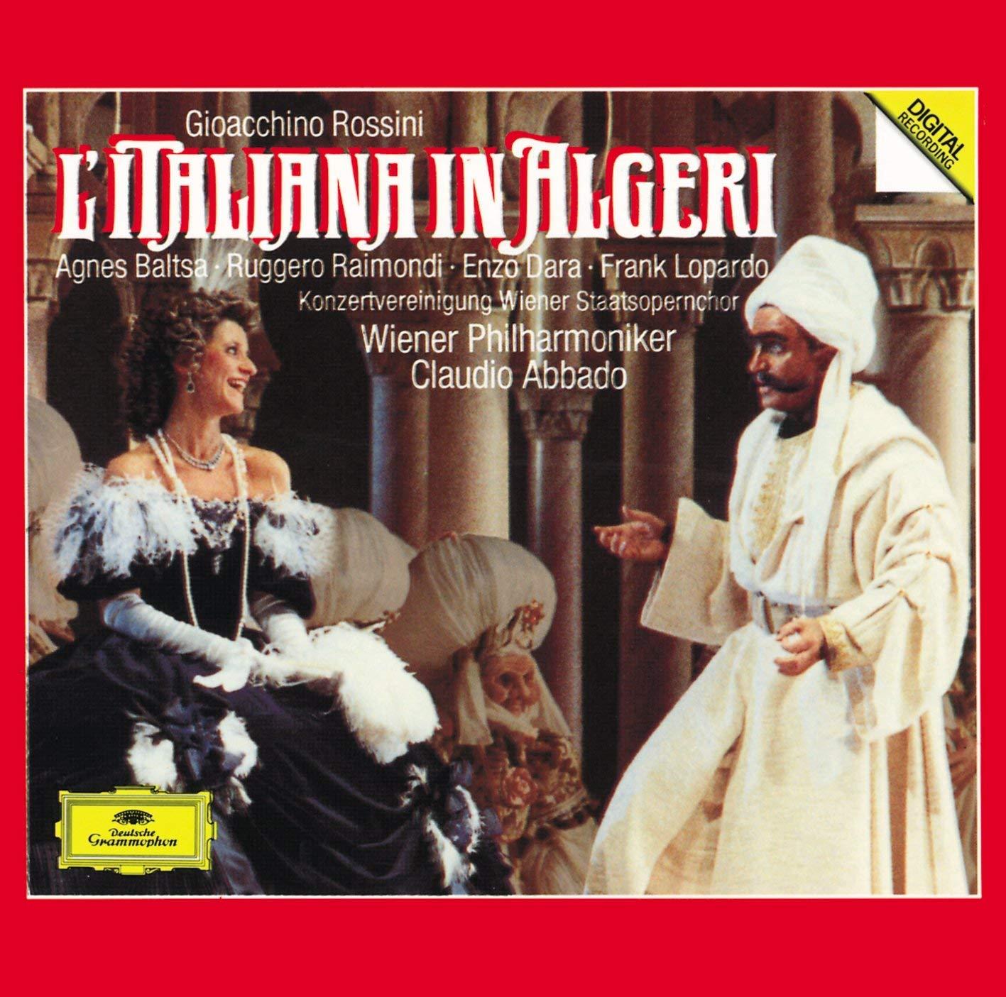 Animer and price revision Rossini: L'Italiana in Algeri Raimondi shop Dara Baltsa Lopardo