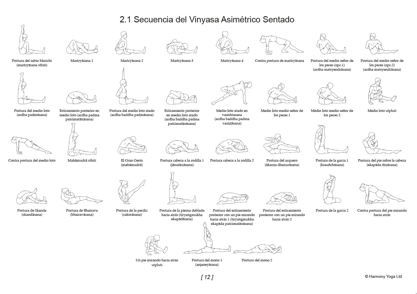 Manual Practico Del Yoga Vinyasa Krama: Based on the ...