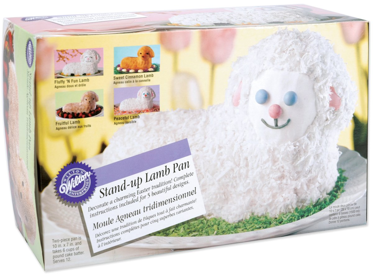 Amazoncom Wilton Standup Lamb Pan Discontinued By Manufacturer