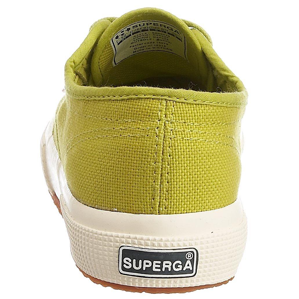 Superga Unisex Erwachsene 2750 Cotu Classic Low Top Grun Apfelgrun