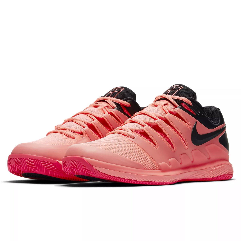 Nike Tennisschue Air Zoom Vapor X Clay, Chaussures de Tennis Homme, Multicolore (Lava Glow/Black-Solar 660), 42 EU