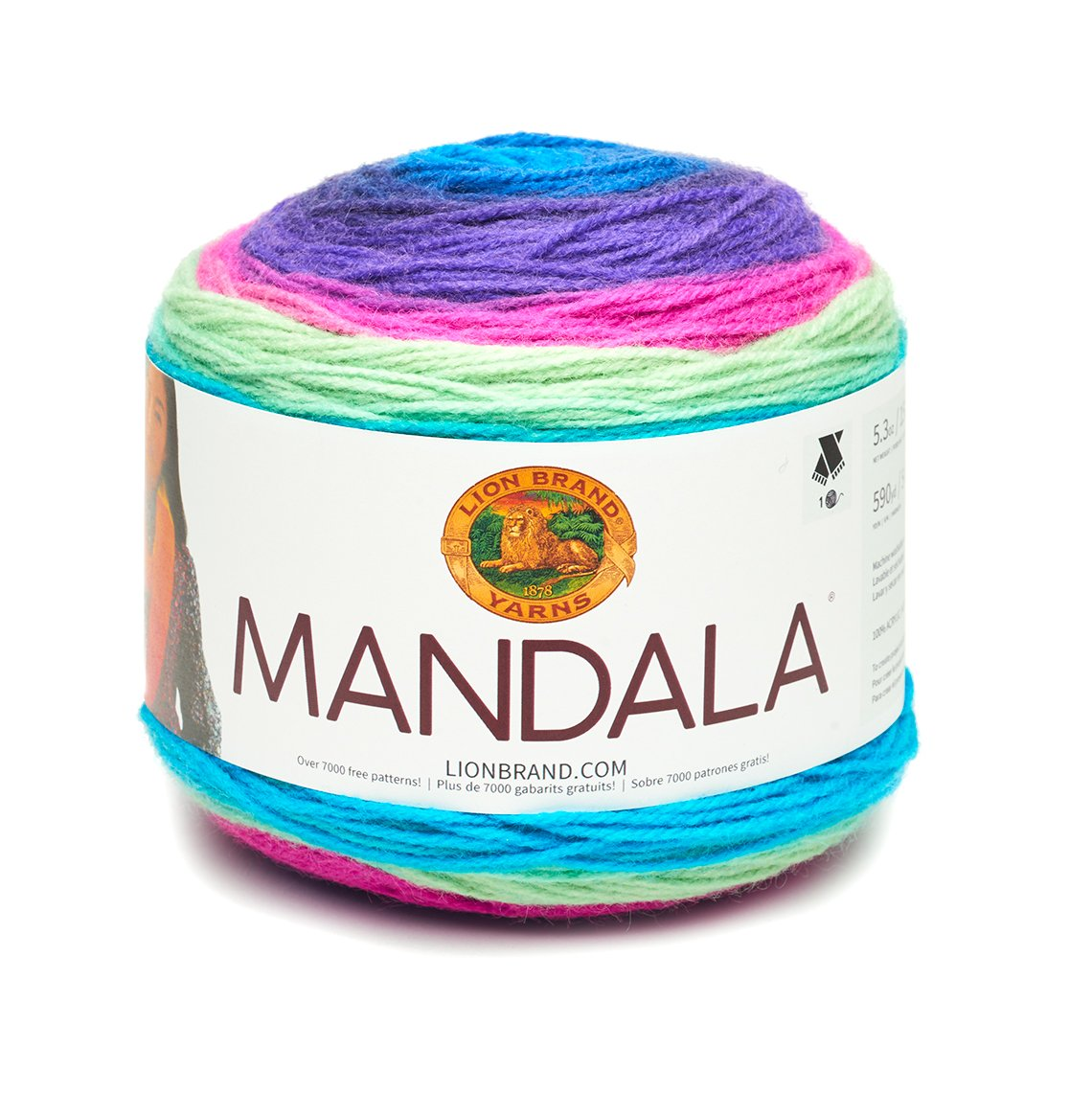 Amazon.com: Lion Brand Mandala Troll - New Color: Kitchen & Dining