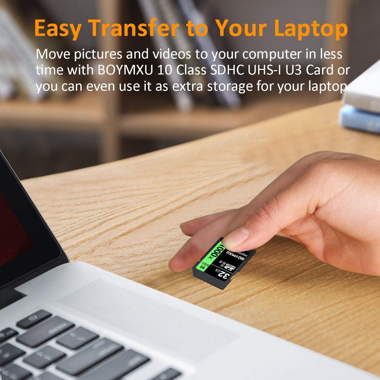 Amazon.com: BOYMXU - Tarjeta de memoria SD (32 GB, 1000 SDHC ...