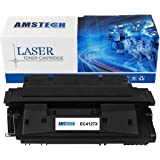 1 Pack Amstech 10,000 Pages High Yield Compatible Toner Cartridge Replacement For 27X C4127X C4127 Used For LaserJet 4000 4000N 4000SE 4000T 4000TN 4050 4050N 4050DN 4050T 4050SE Printer (Black)