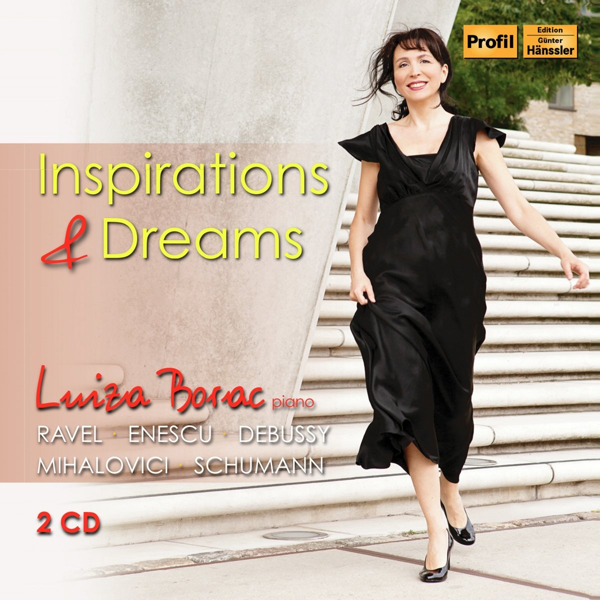 CD : VARIOUS ARTISTS - Inspirations & Dreams (2PC)